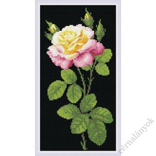 Diamond Mosaic készlet - Rózsaszál