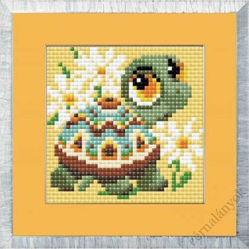Diamond Mosaic készlet - Teknős