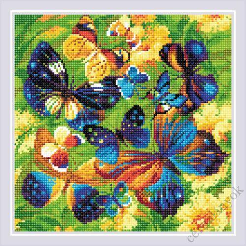 Diamond Mosaic készlet - Szikrázó pillangó