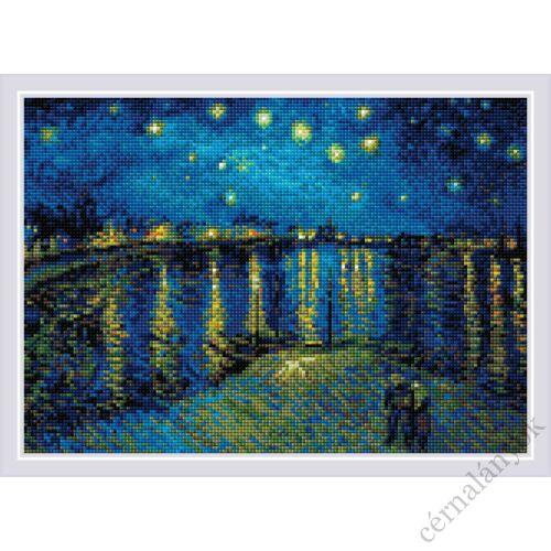 Diamond Mosai készlet - Csillagos éj a Rhone fölött
