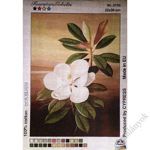 Fehér virág gobelin