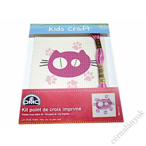 DMC Hímzőkészlet gyerekeknek - cicus
