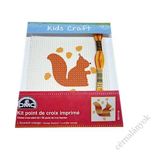 DMC Hímzőkészlet gyerekeknek - mókus