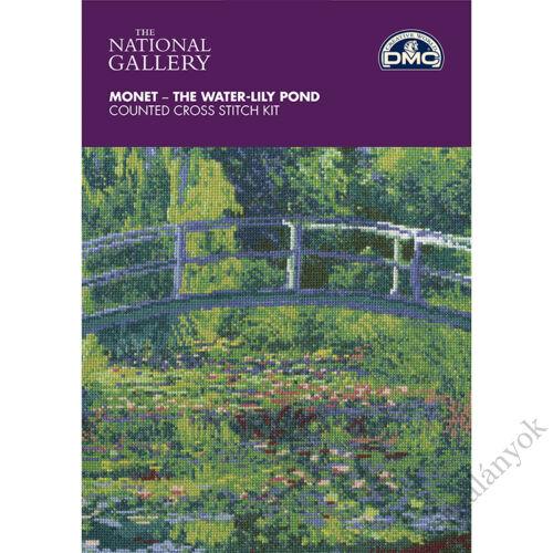 Monet: Tavirózsák - keresztszemes készlet