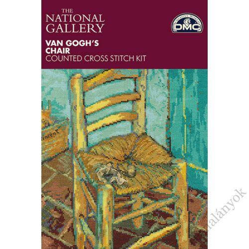 Van Gogh: Van Gogh széke - keresztszemes készlet