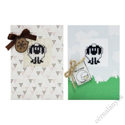 Hímezhető képeslap - bárány