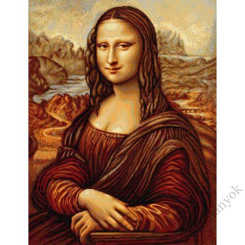 Mona Lisa - leszámolható keresztszemes készlet