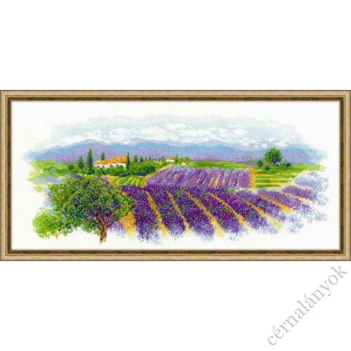 Virágzó Provence - keresztszemes készlet