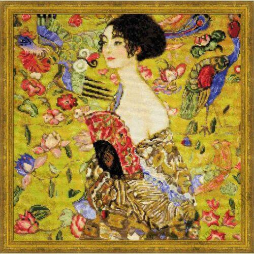 Klimt: Hölgy legyezővel
