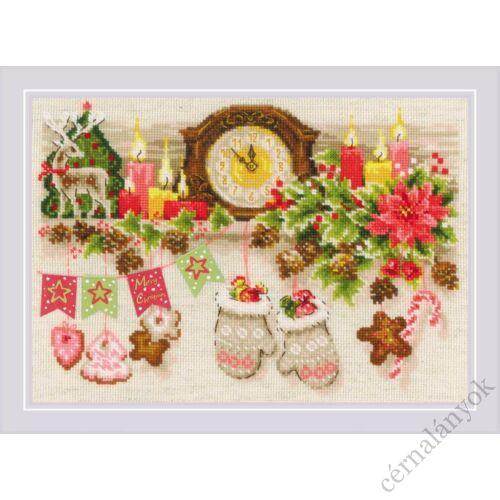 Karácsonyi polc - Riolis keresztszemes készlet