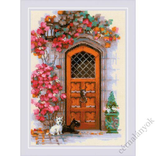 Skót ajtó - Riolis keresztszemes készlet