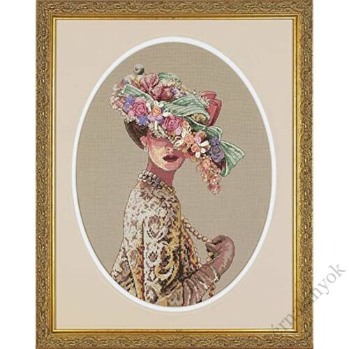 Viktoriánus elegancia - keresztszemes készlet