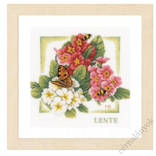 Tavasz - Lanarte keresztszemes készlet