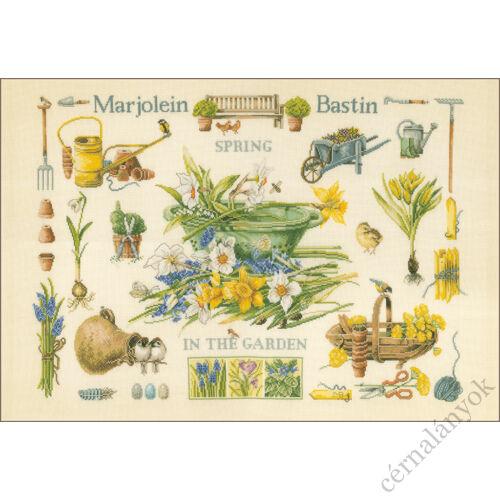Marjolein Bastin: Tavasz a kertben keresztszemes készlet