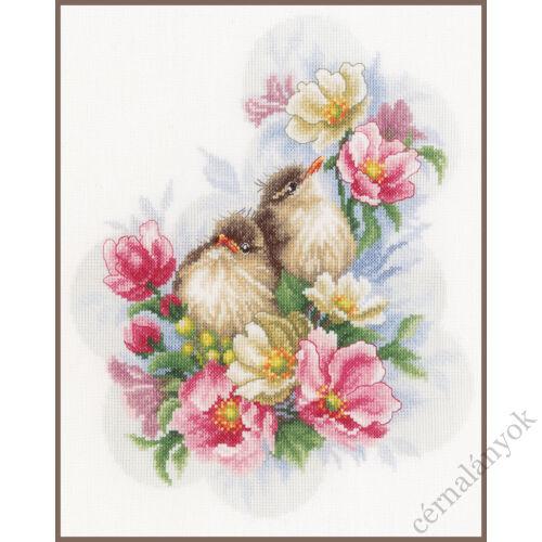 Virágőrök - Lanarte keresztszemes készlet