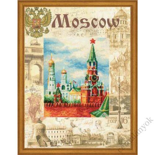 A világ városai. Moszkva keresztszemes készlet