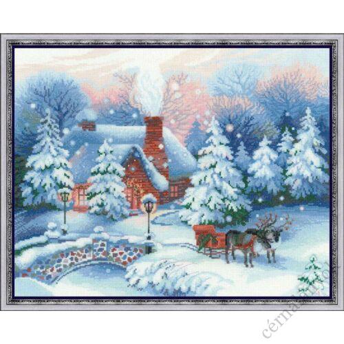 Karácsony éjjel - Riolis keresztszemes készlet