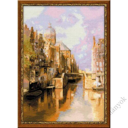 Amszterdam. Audezeyts Forburgval Csatorna