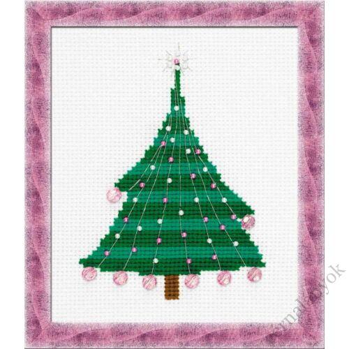 Karácsonyfa gömbökkel