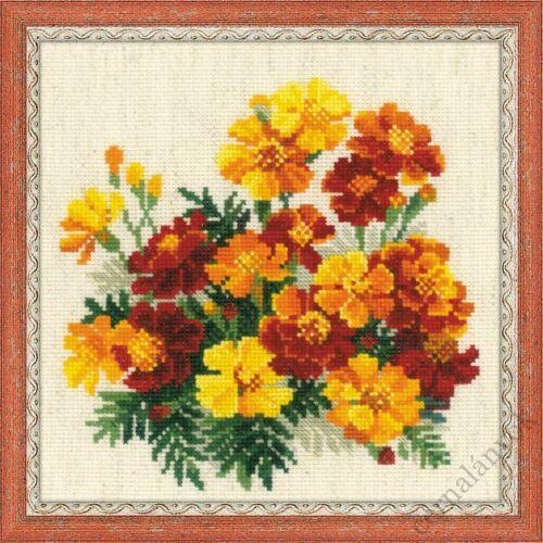 Körömvirágok - keresztszemes készlet