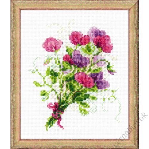 Nyári virágok - keresztszemes készlet