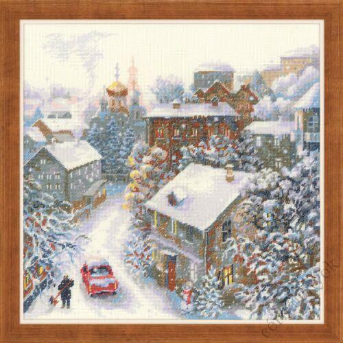 Havas tél - leszámolható gobelin / félkeresztöltéses készlet