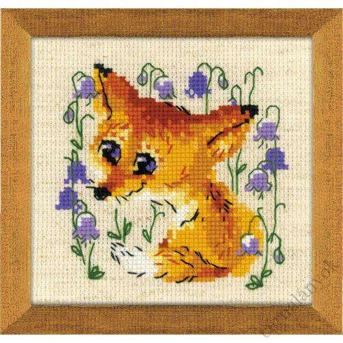 Kis róka keresztszemes készlet