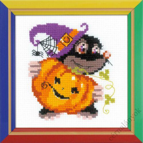 Happy Halloween - keresztszemes készlet