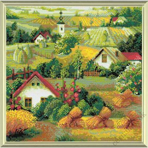 Diamond Mosaic készlet - Vidéki táj