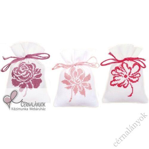 Illatzsák - Rózsaszín virágok