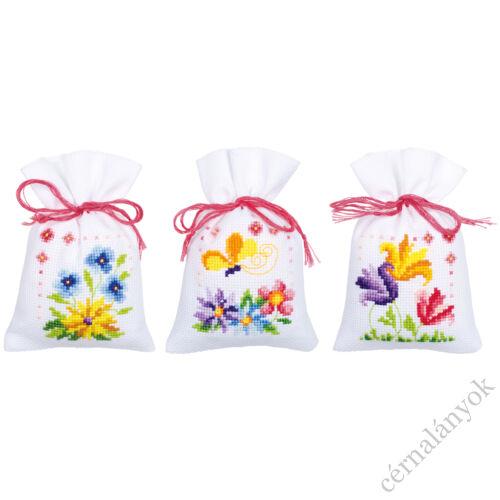 Illatzsák - Színes tavaszi virágok