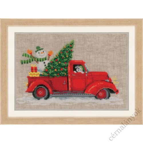Karácsonyi szállítmány - Vervaco keresztszemes készlet