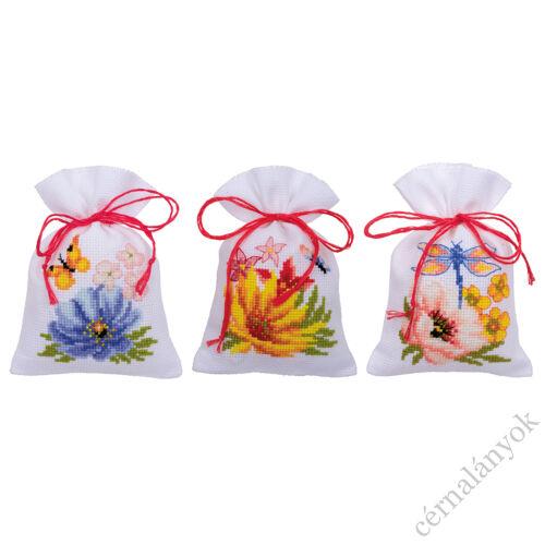 Illatzsák - Színpompás virágok