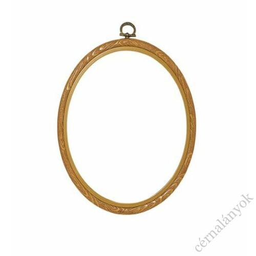 Vervaco flexi hoop ovális rugalmas hímzőráma / képkeret (20 cm x 25 cm)