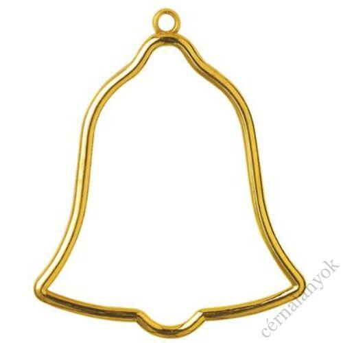 Vervaco műanyag aranyszínű keret - harang forma
