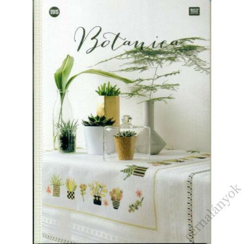 Botanica - keresztszemes mintafüzet