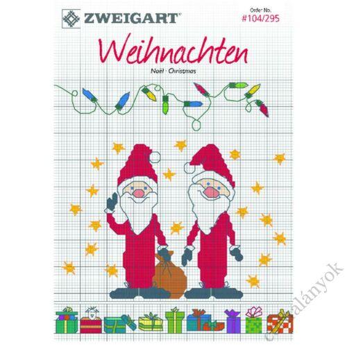 Zweigart Wihnachten - karácsonyi keresztszemes mintafüzet