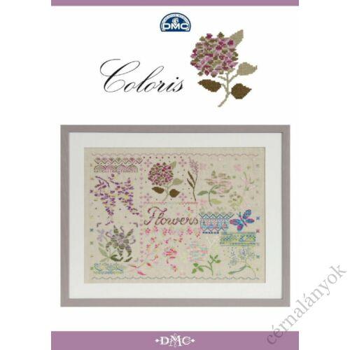 DMC Coloris Flowers mintaív