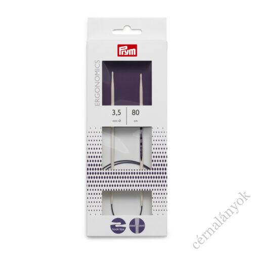 Prym ergonomikus körkötőtű 80 cm-es kábellel -  3,5 mm