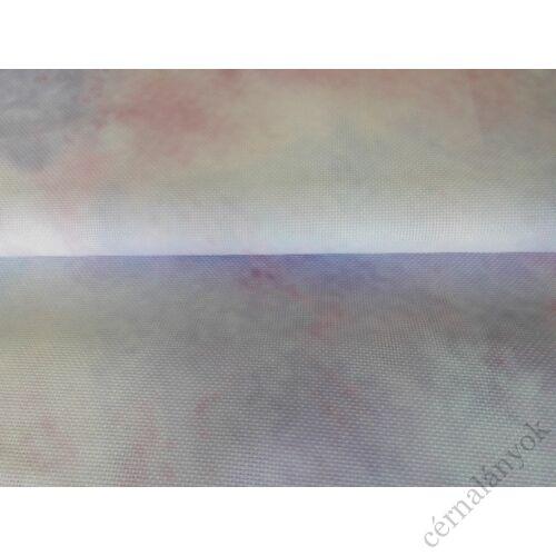 DMC Impressions Aida - lila, rózsaszín méretre vágott kelme (55 cm x 50 cm)