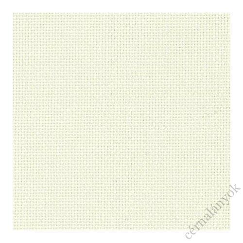 Zweigart Linda hímzővászon - fehér 27 ct, 140 cm széles