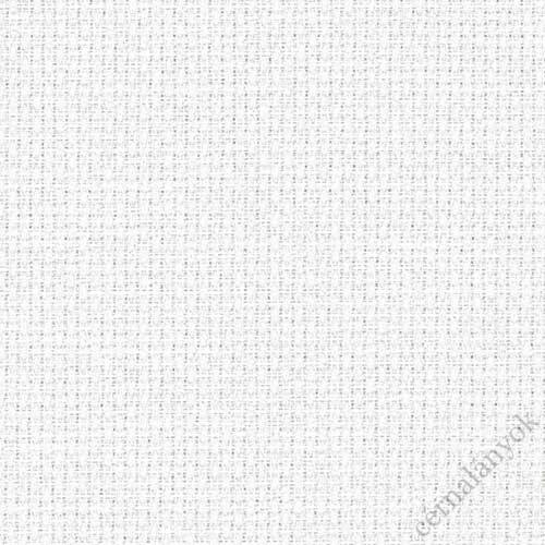 Zweigart fehér Aida - 18 ct (150 cm széles)
