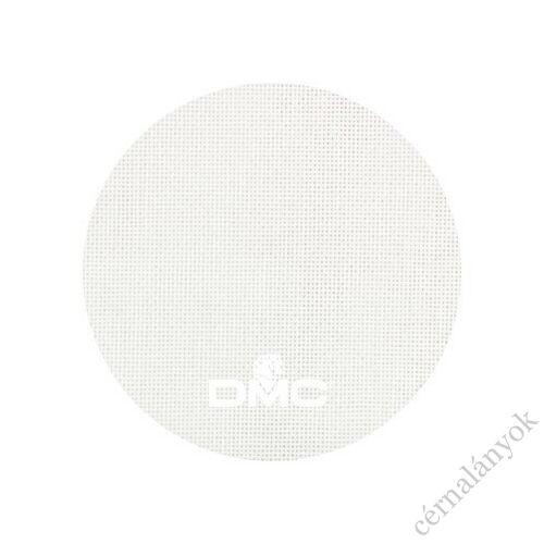 DMC fehér 25 ct-s hímzővászon 50 cm x 50 cm méretre vágott kelme