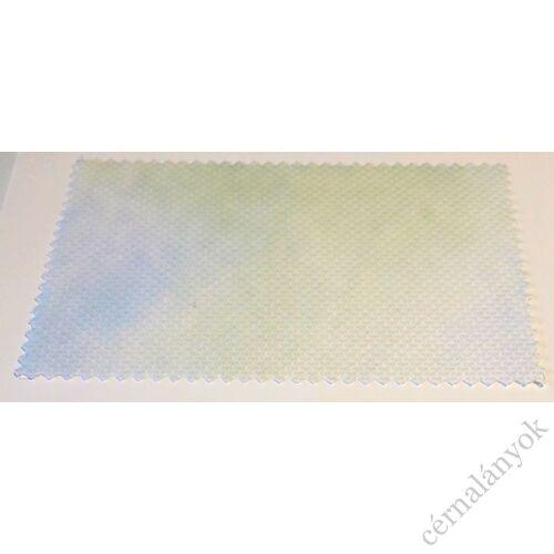 DMC Impressions Aida - kék, zöld méretre vágott kelme (55 cm x 50 cm)