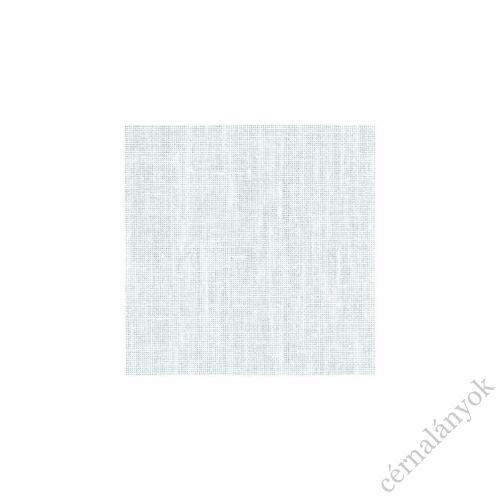 Zweigart Newcastle 40 ct fehér hímzővászon méretre vágott kelme 70 x 50 cm