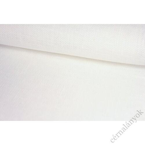 Zweigart Belfast 32 ct fehér hímzővászon - 140 cm széles