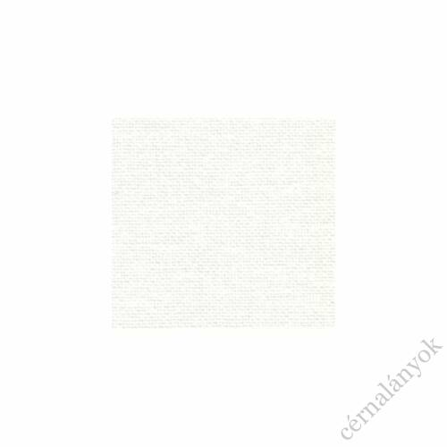 Zweigart Floba 36 ct fehér hímzővászon méretre vágott kelme 70 cm x 50 cm