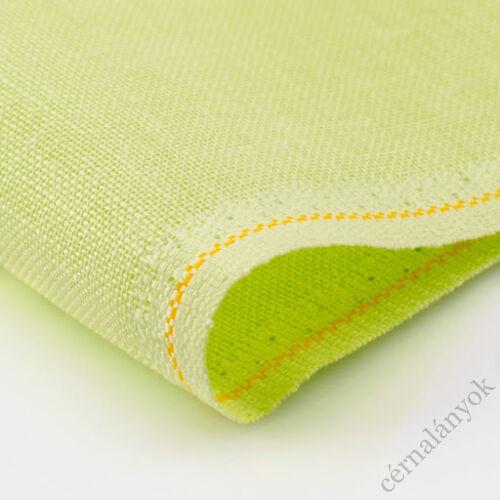 Zweigart Belfast lenvászon mézharmat zöld - 32 ct - 140 cm széles