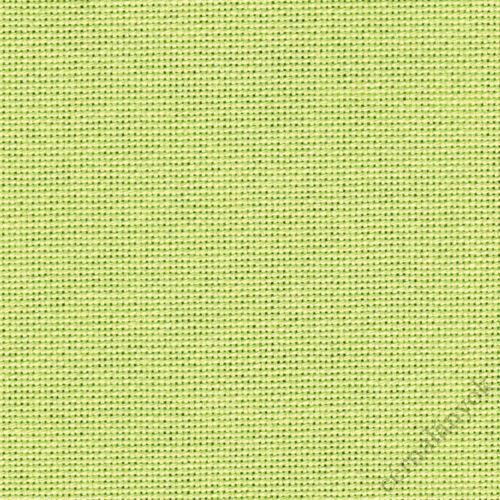 Zweigart Lugana hímzővászon citromzöld - 25 ct - 140 cm széles