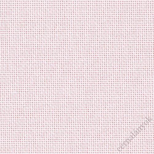 Zweigart Lugana hímzővászon rózsa - 25 ct - 140 cm széles
